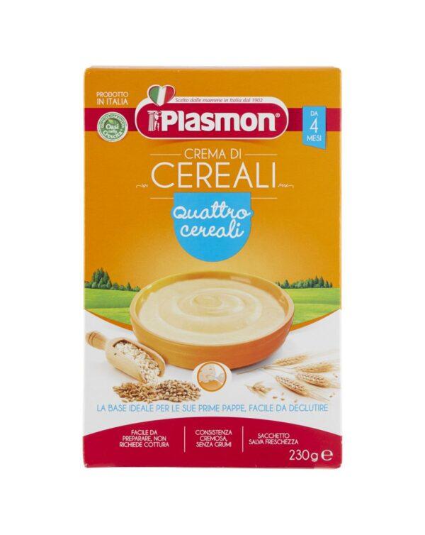 Plasmon - Crema ai 4 cereali 230g - Plasmon