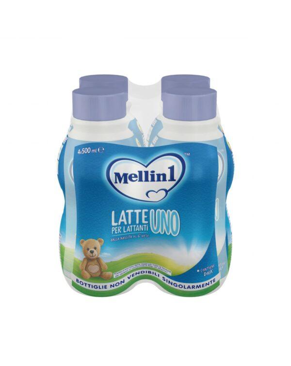 Mellin - Latte Mellin 1 liquido 4x500ml - Mellin