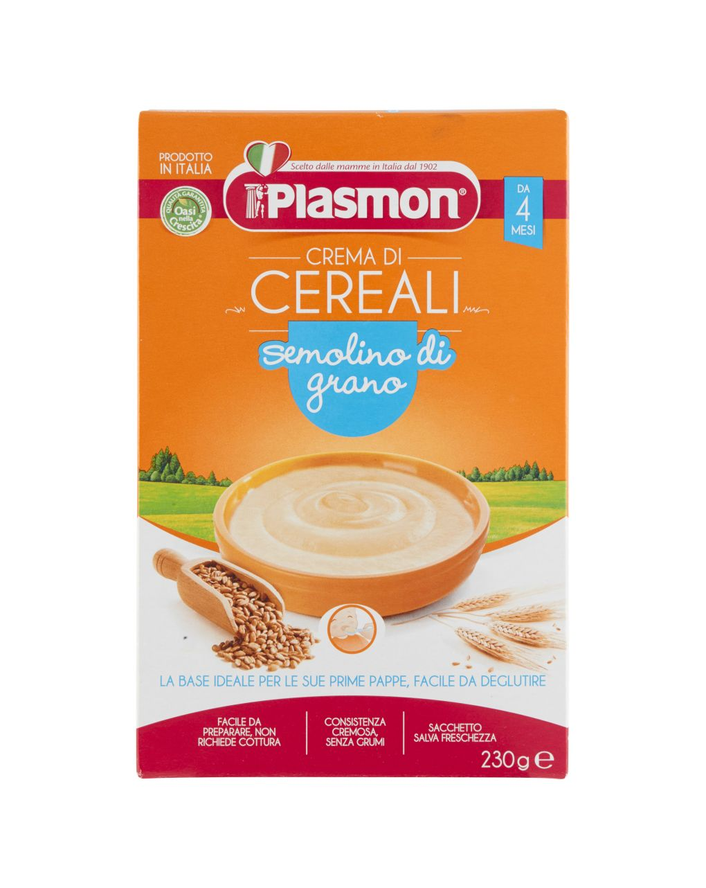 Plasmon - semolino di grano 230g - Plasmon