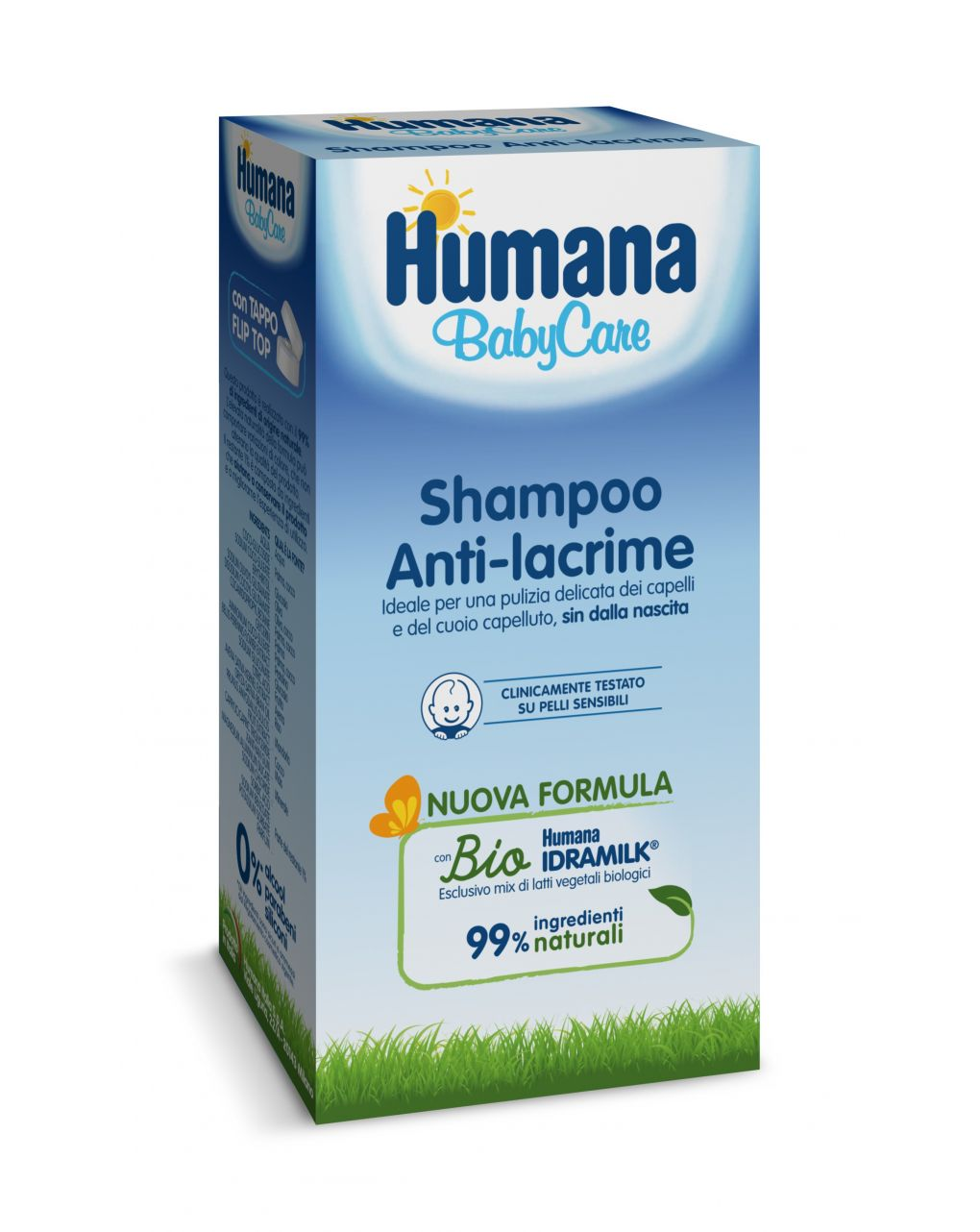 Shampoo anti-lacrime 200 ml - Humana