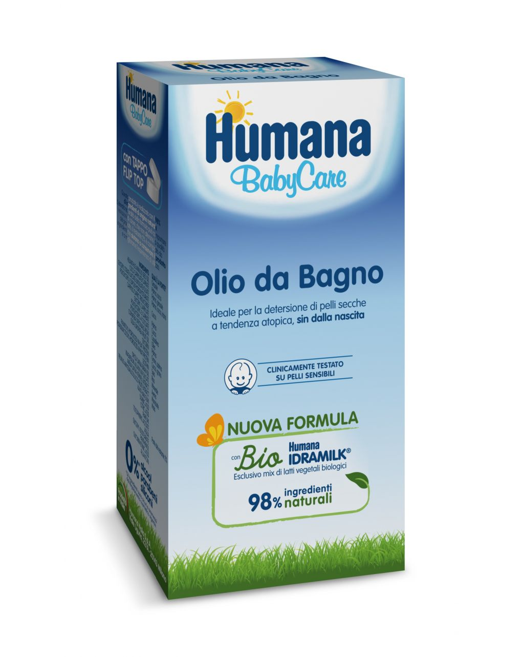 Olio da bagno 200 ml - Humana Baby Care
