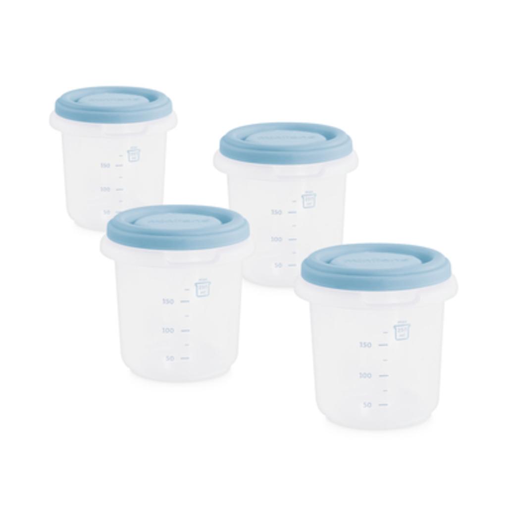 Set 4 contenitori termici blu miniland - Miniland