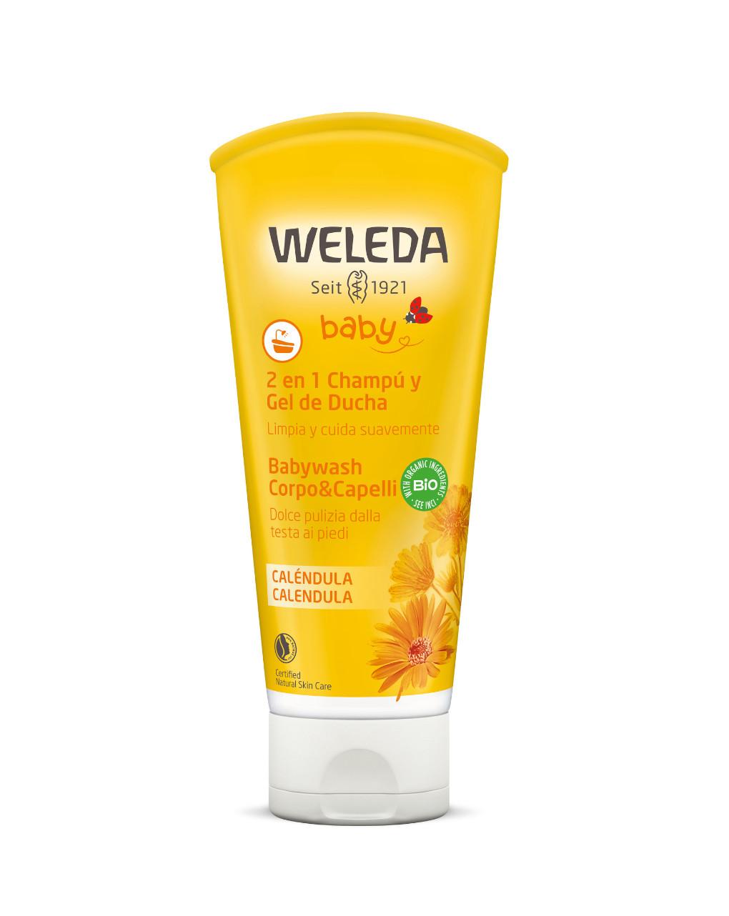 Babywash corpo & capelli calendula 200 ml - Weleda