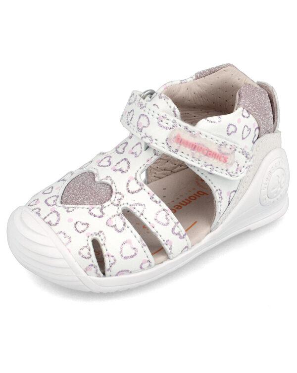 Sandalo ragnetto bimba bianco Biomecanics - Biomecanics