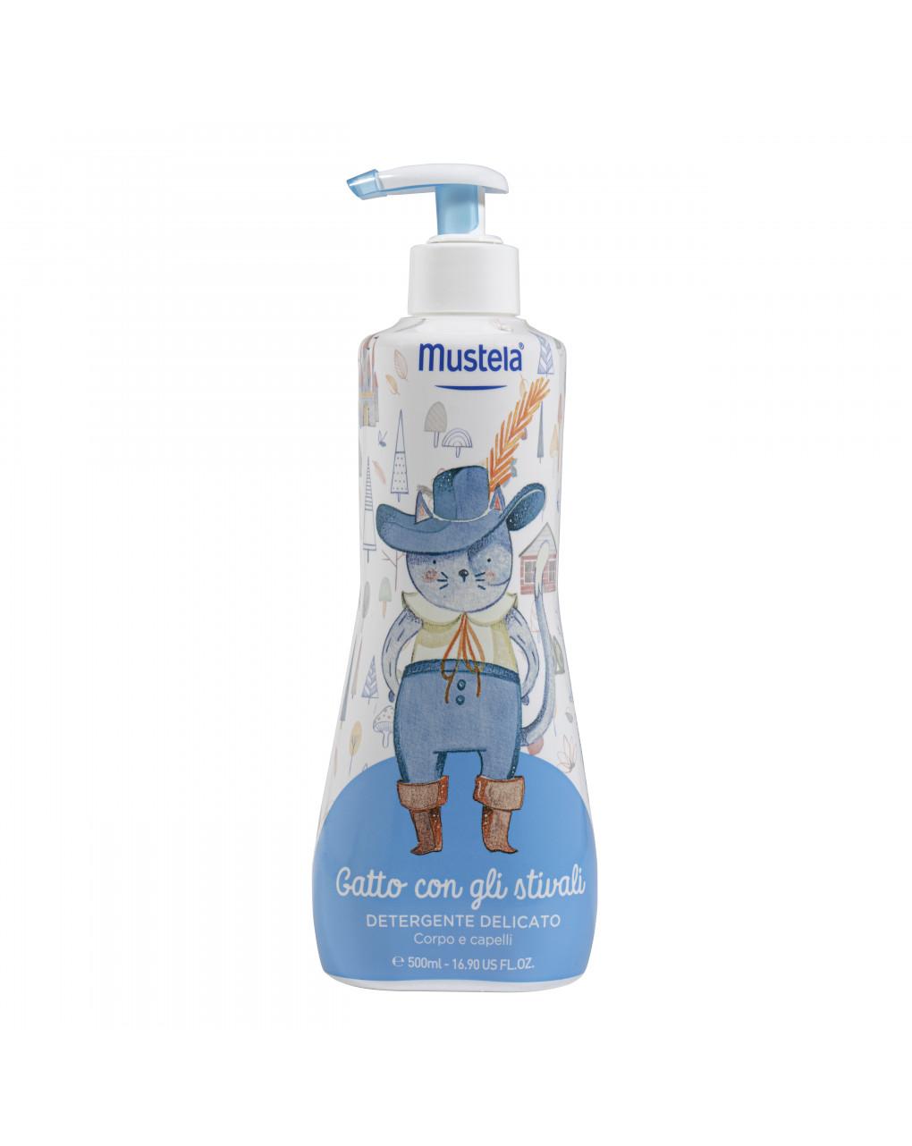 Detergente delicato 500 ml limited edition - gatto con gli stivali - Mustela