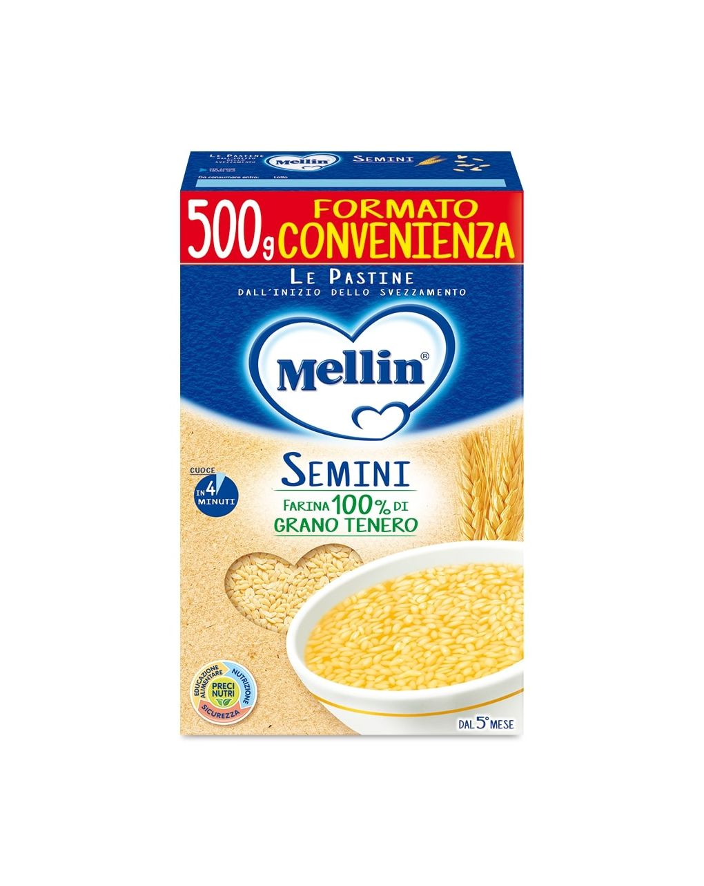 Mellin - pastina semini 500g - Mellin