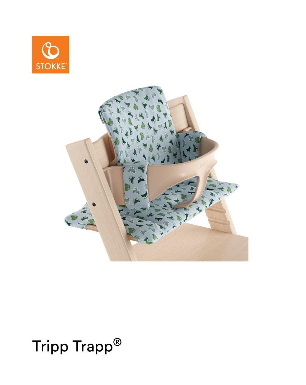 Tripp trapp® cuscino – blu fox - Stokke