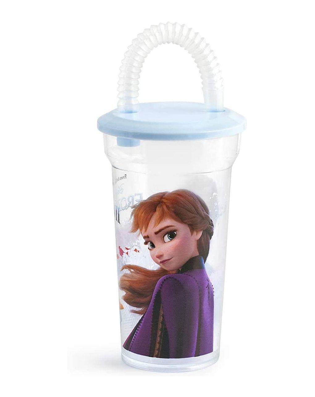 Bicchiere con cannuccia frozen2 disney - Disney, Lulabi Disney