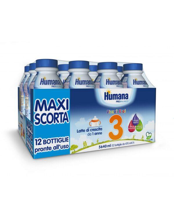 Humana - Latte Humana 3 ProBalance liquido 12x470ml - Humana
