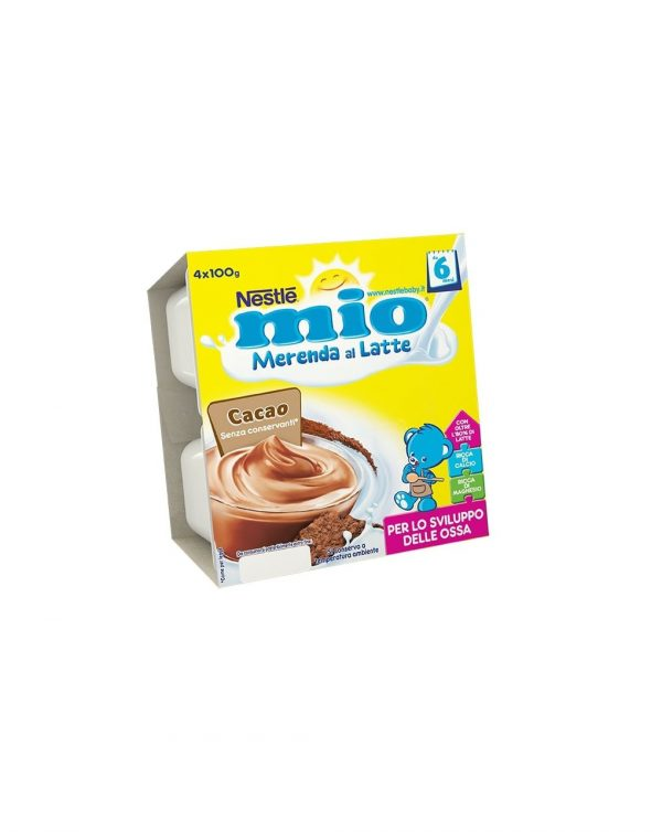 Nestlè MIO - Merenda al latte cacao 4x100g - Nestlé