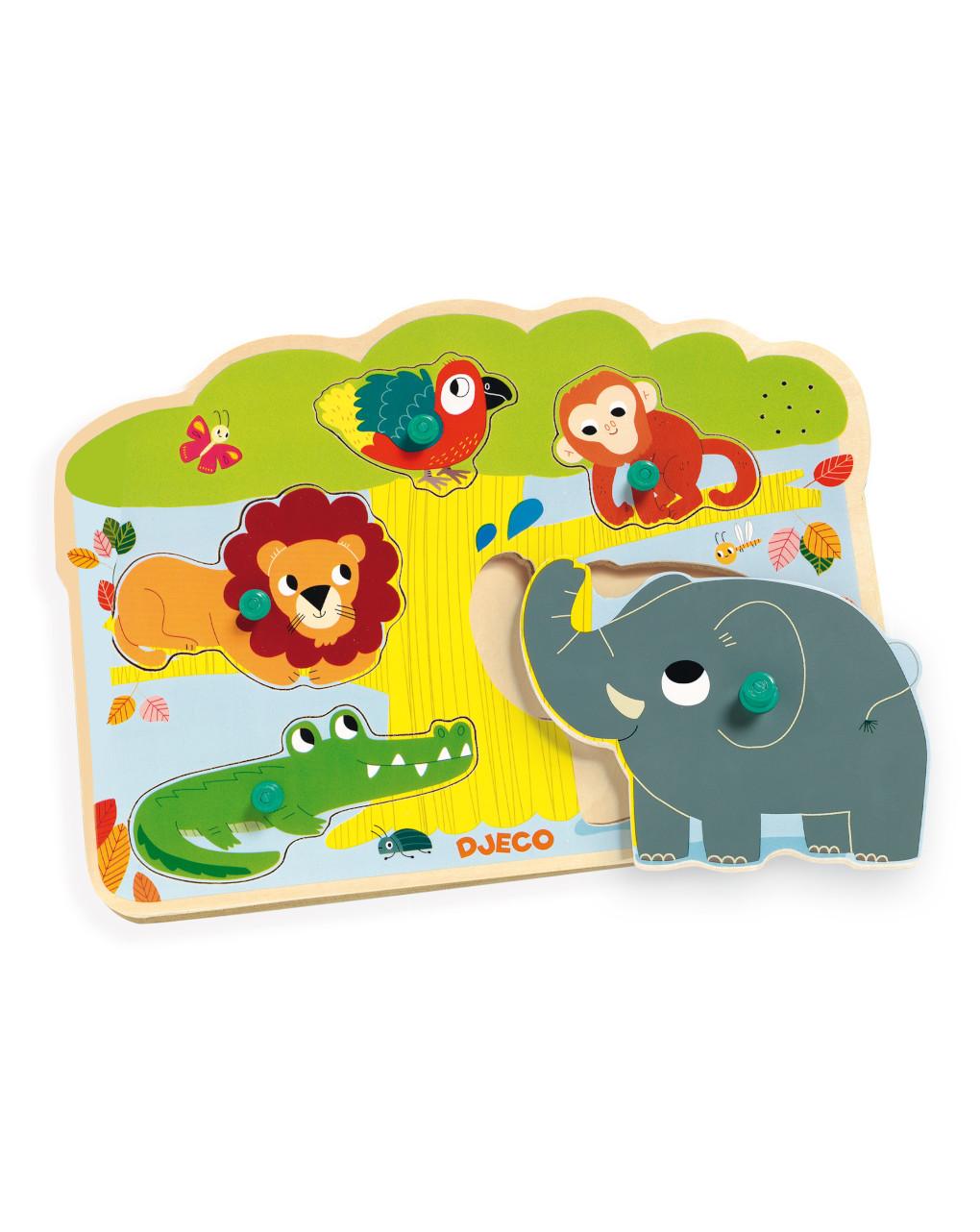 Djeco - baobab - puzzle legno - Djeco