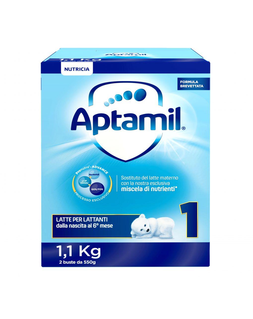 Aptamil - latte aptamil 1 polvere 1100g - Aptamil