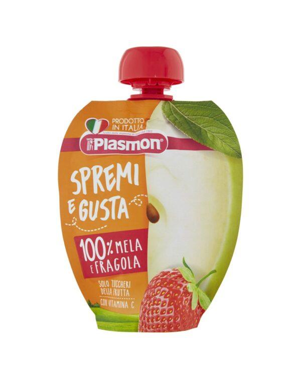Plasmon - Spremi e gusta mela e fragola 100g - Plasmon
