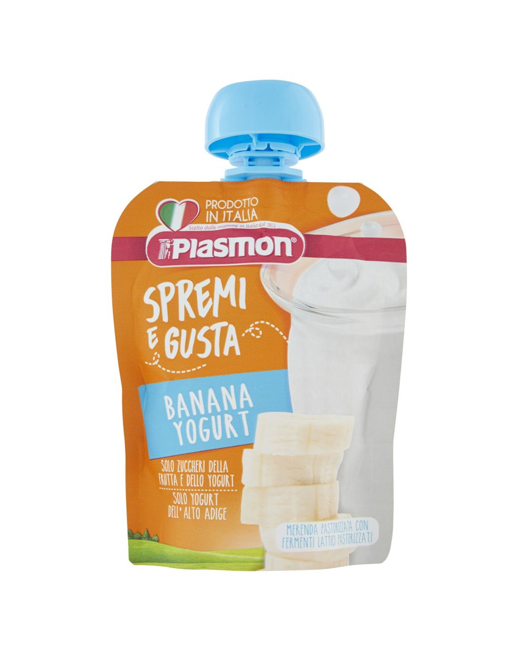 Plasmon - spremi e gusta dessert banana e yogurt 85g - Plasmon