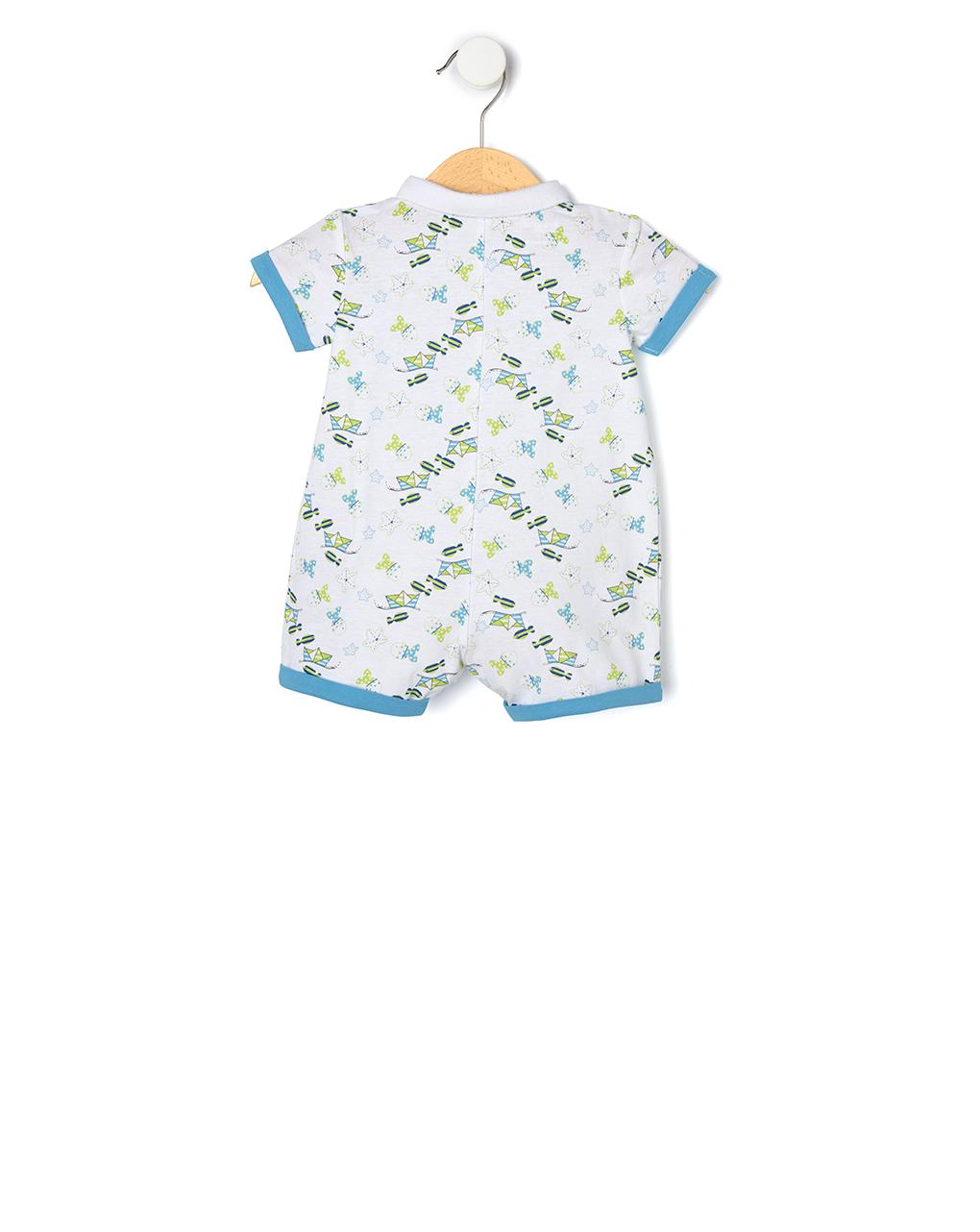 Tutina in jersey con stampa allover - Prénatal