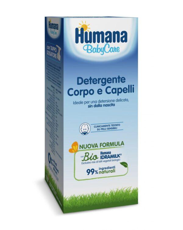 Detergente corpo & capelli 300 ml - Humana