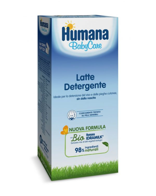 Latte detergente 300 ml - Humana