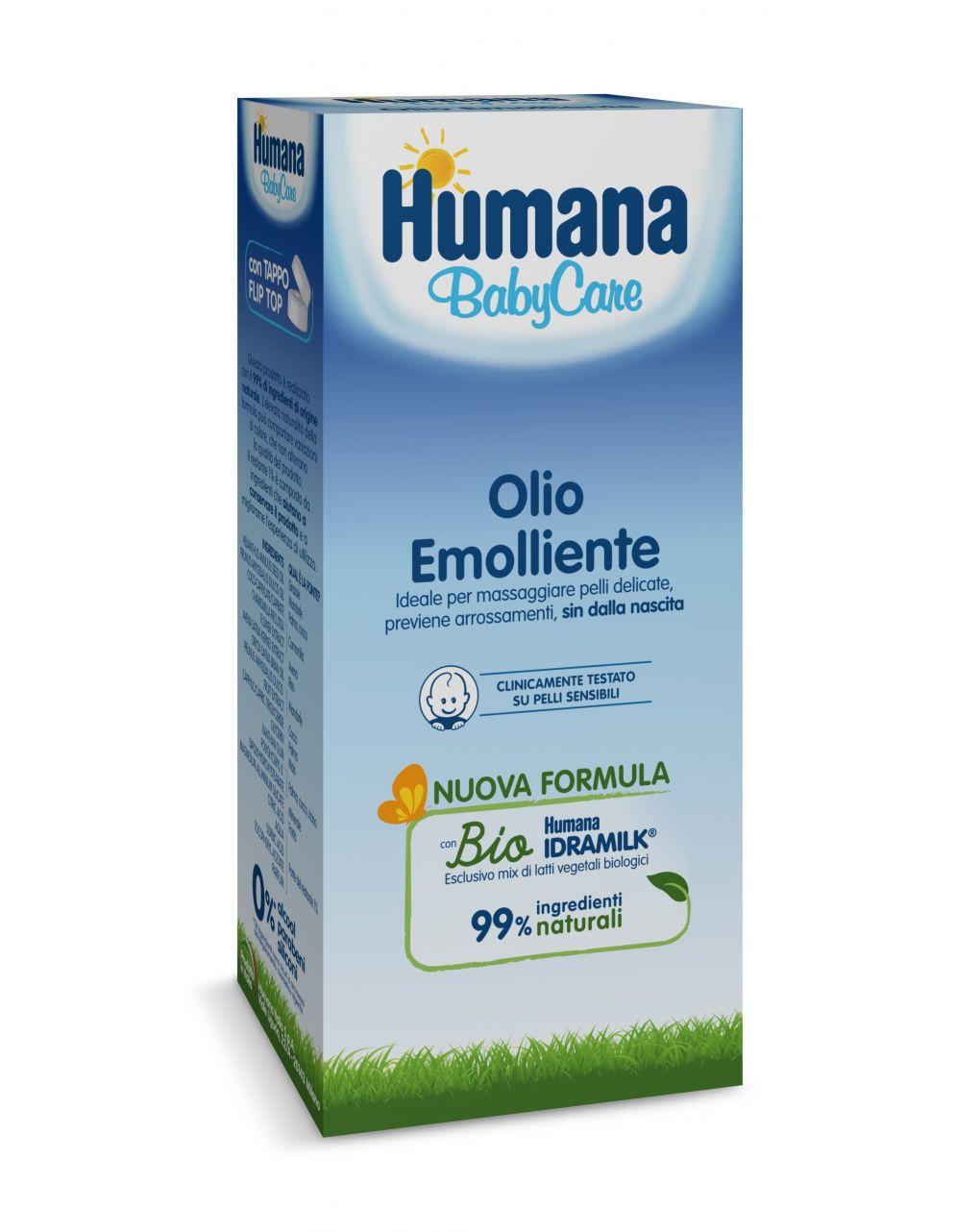 Olio emolliente 250 ml - Humana Baby Care