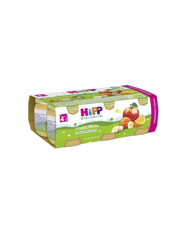 Hipp - Omogeneizzato frutta mista 100% 6x80g - Hipp