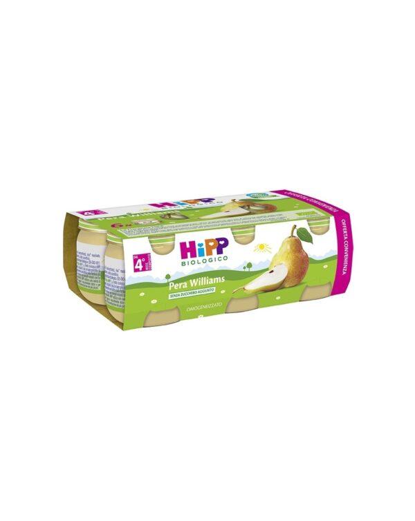 Hipp - Omogeneizzato pera Williams 100% 6x80g - Hipp