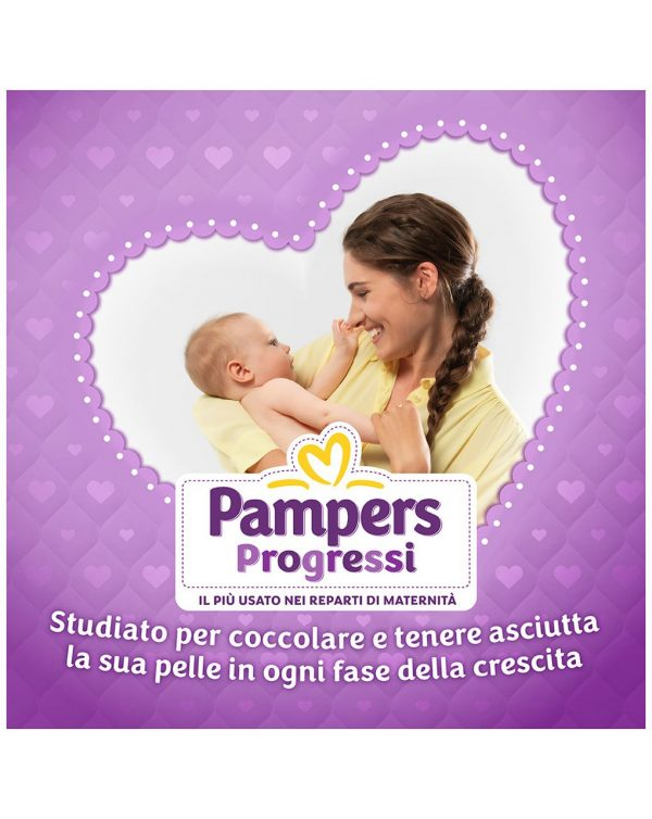 Pampers - Pannolini Progressi pentapack tg. 2 (140 pz) - Pampers