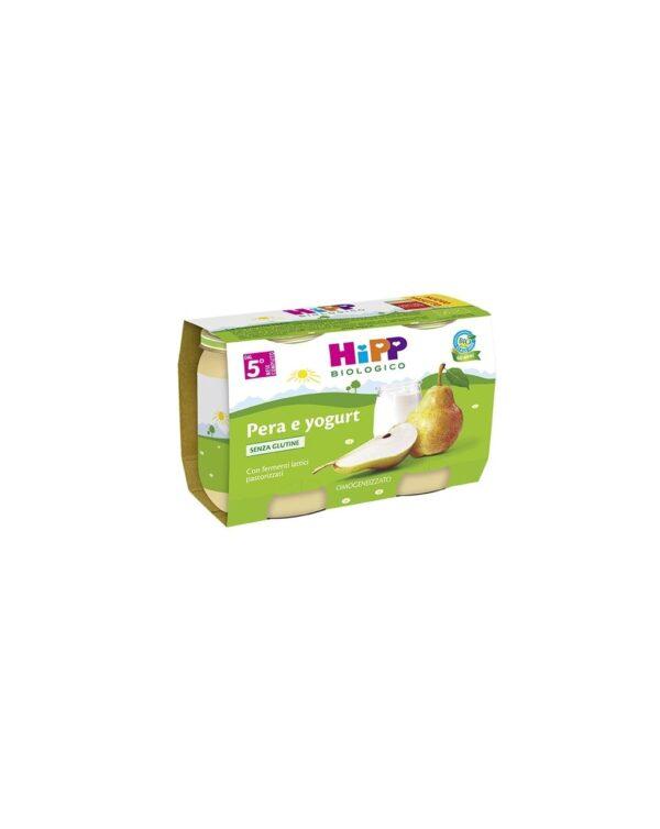 Hipp - Merenda pera e yogurt 2x125g - Hipp