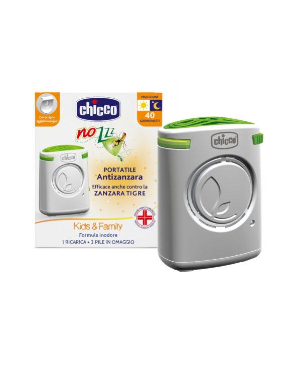 Portatile antizanzara con ricarica Biocida - Chicco
