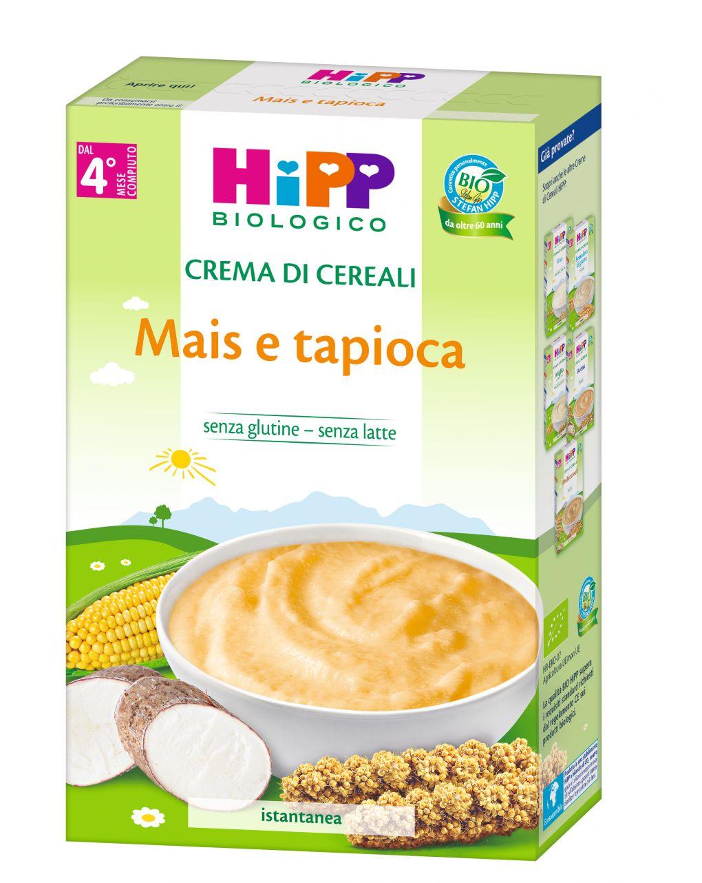 Hipp - crema mais e tapioca 200g - Hipp