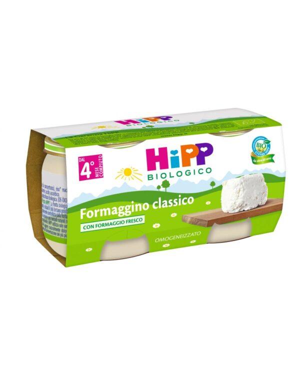 Hipp - Omogeneizzato formaggino classico 2x80g - Hipp