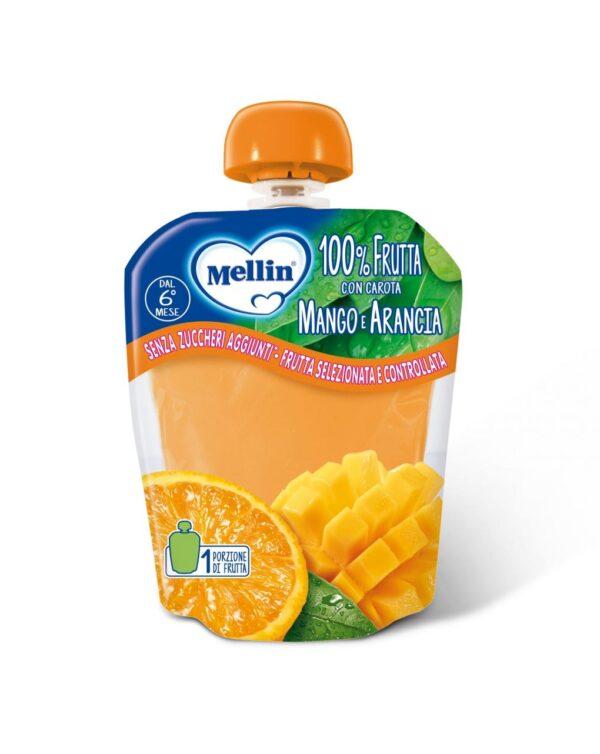 Mellin - Pouch arancia mango 90g - Mellin