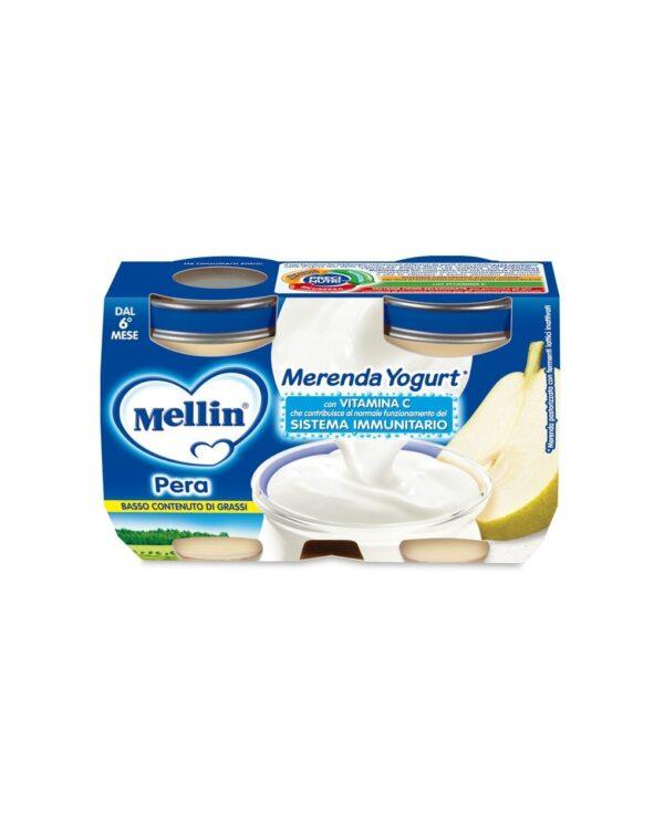 Mellin - Merenda yogurt pera 2x120g - Mellin