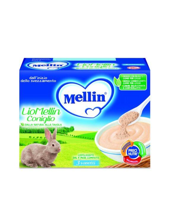 Mellin - Liofilizzato coniglio 3x10g - Mellin