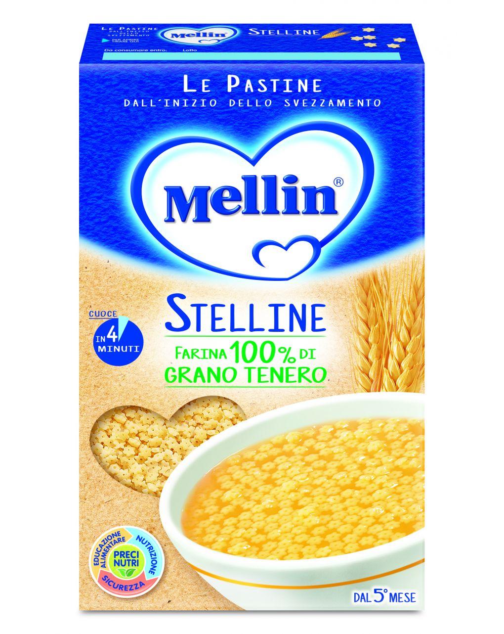 Mellin - pastina stelline 320g - Mellin