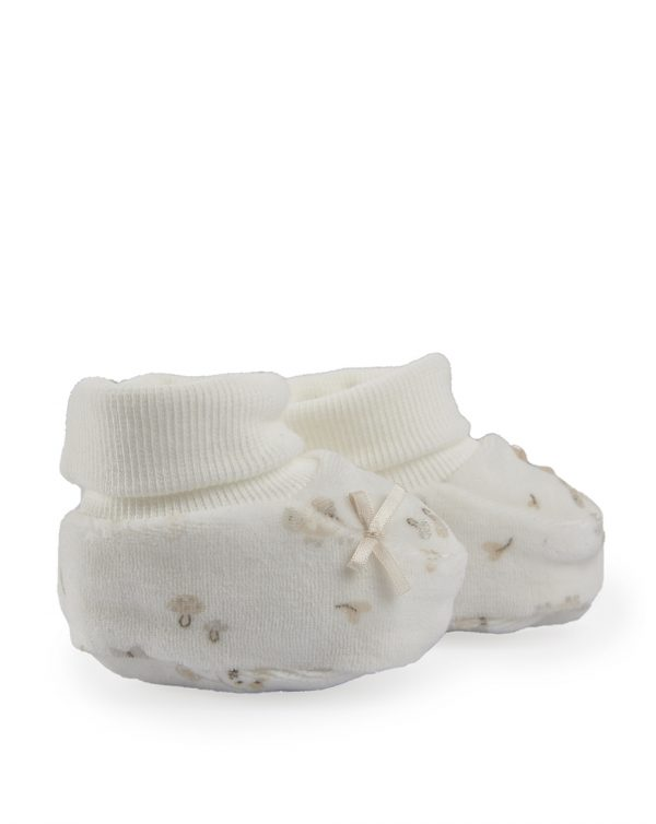 Scarpe in ciniglia panna - Prénatal