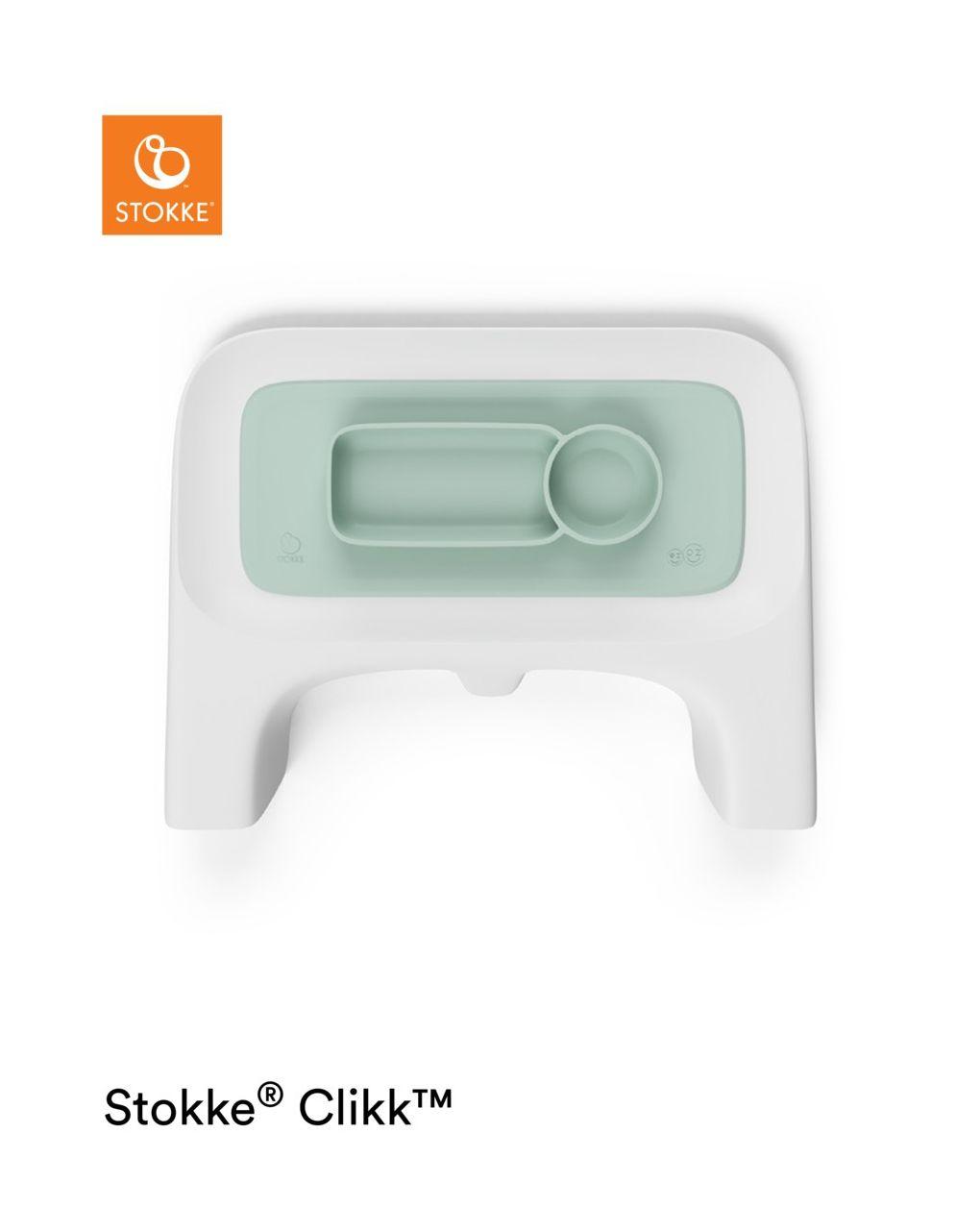 Ezpz™ by stokke™ tovaglietta per vassoio clikk™ - soft mint - Stokke