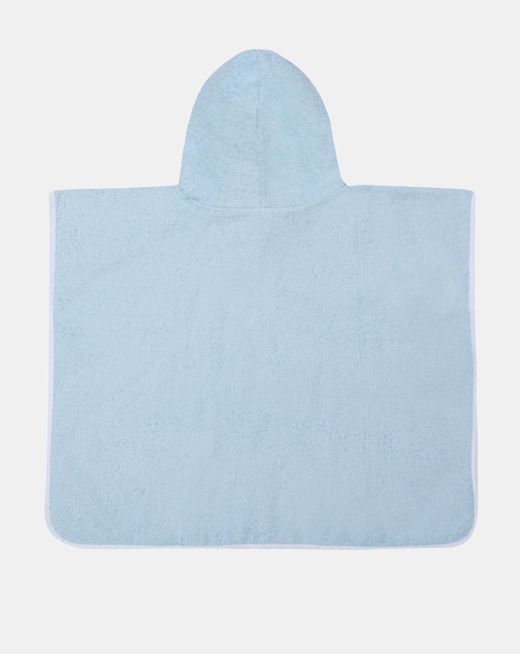 Poncho in spugna azzurro - Prénatal