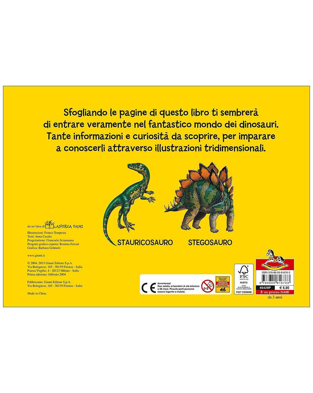 I dinosauri (tridimensionale) - Dami