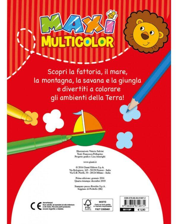 Maxi Multicolor - Giunti