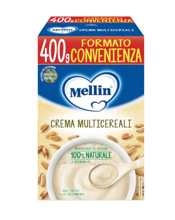 Mellin - Crema multicereali 400g - Mellin
