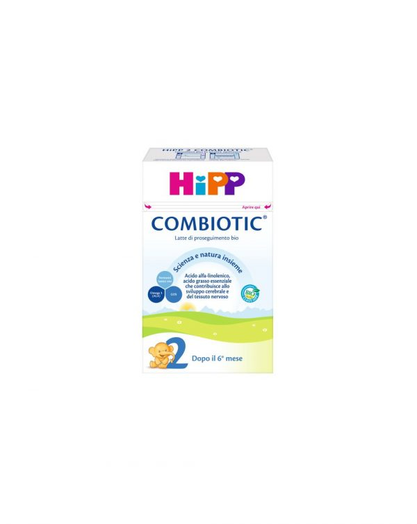 Latte 2 Combiotic 600g - Hipp