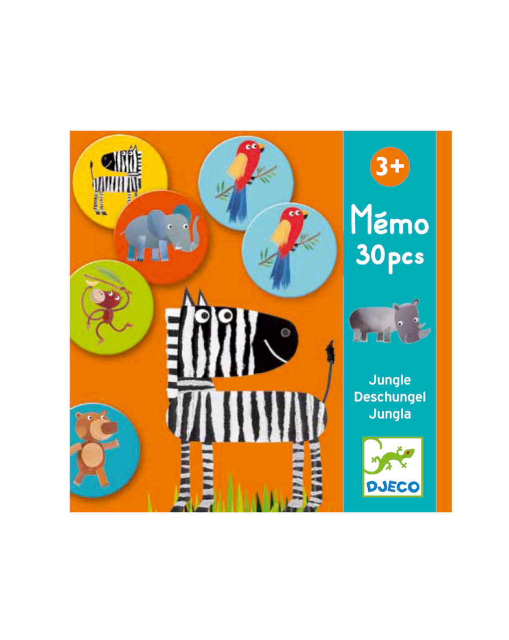 Djeco - memo jungle - educativo - Djeco