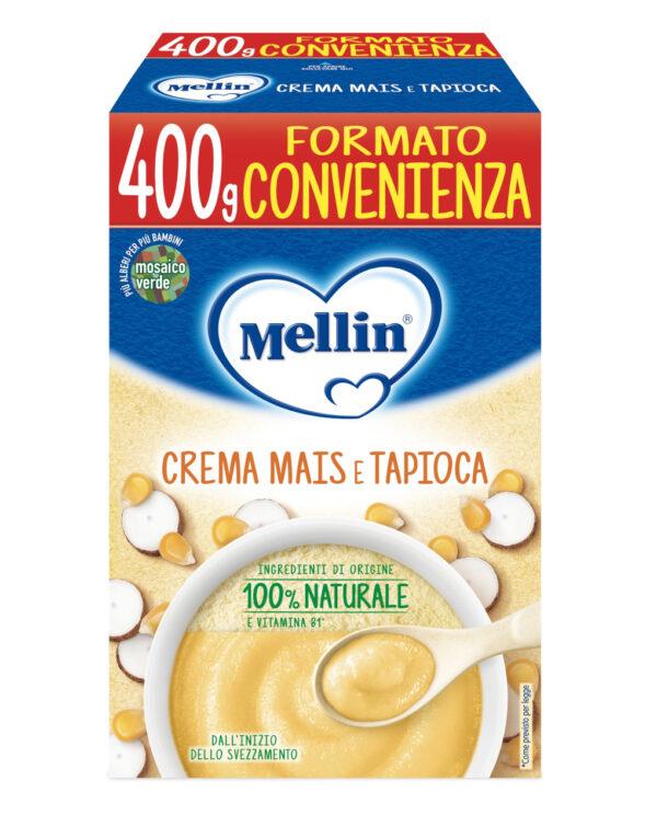 Mellin - Crema di mais e tapioca 400g - Mellin