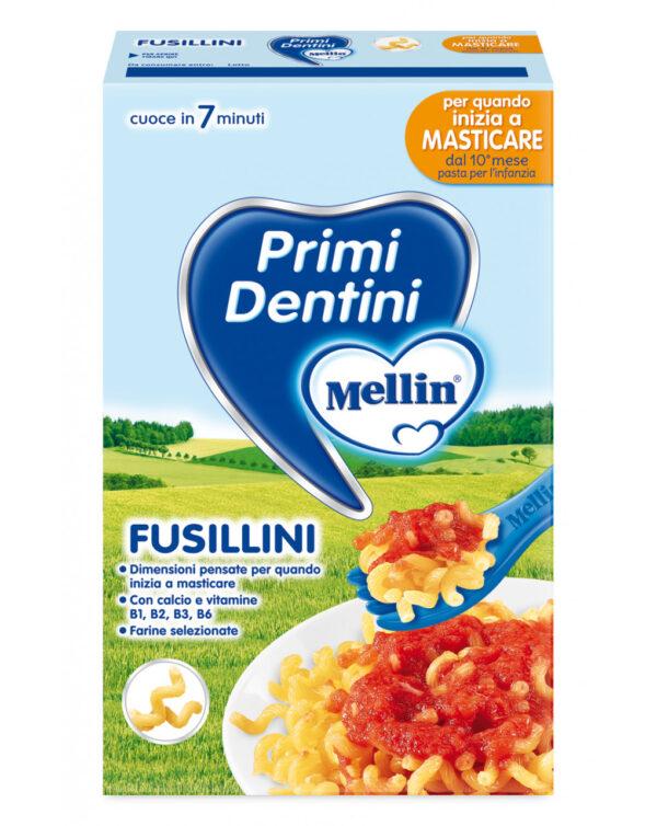 Mellin - Pasta fusillini primi dentini 280g - Mellin