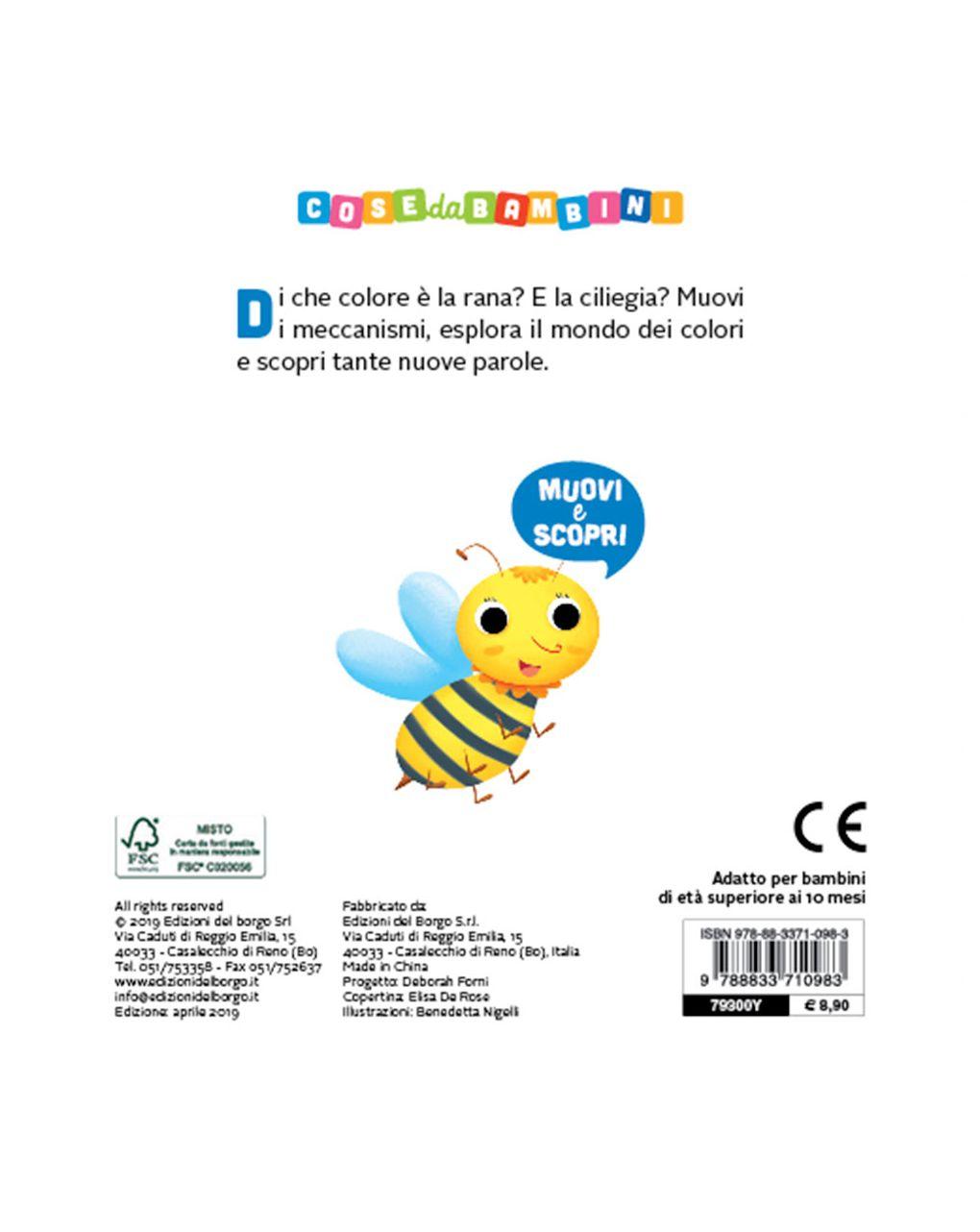 Colori - muovi scopri - Edizioni del Borgo