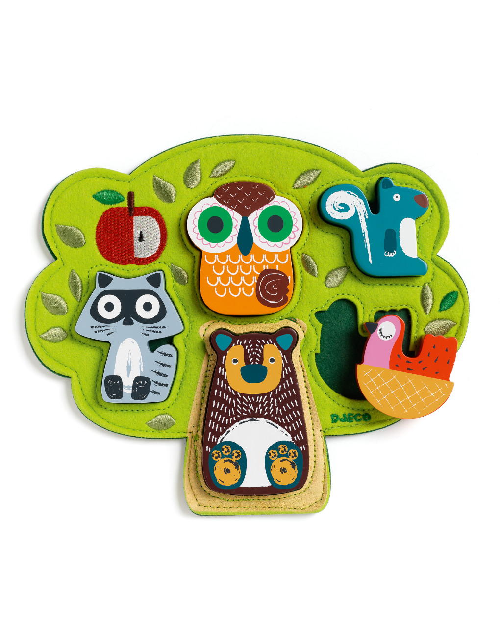 Djeco - oski - puzzle legno - Djeco
