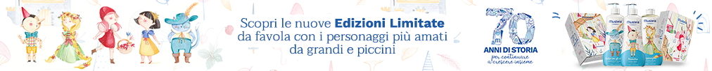 banner promozionale Mustela Limited Edition