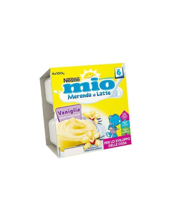 Nestlè MIO - Merenda al latte vaniglia 4x100g - Nestlé
