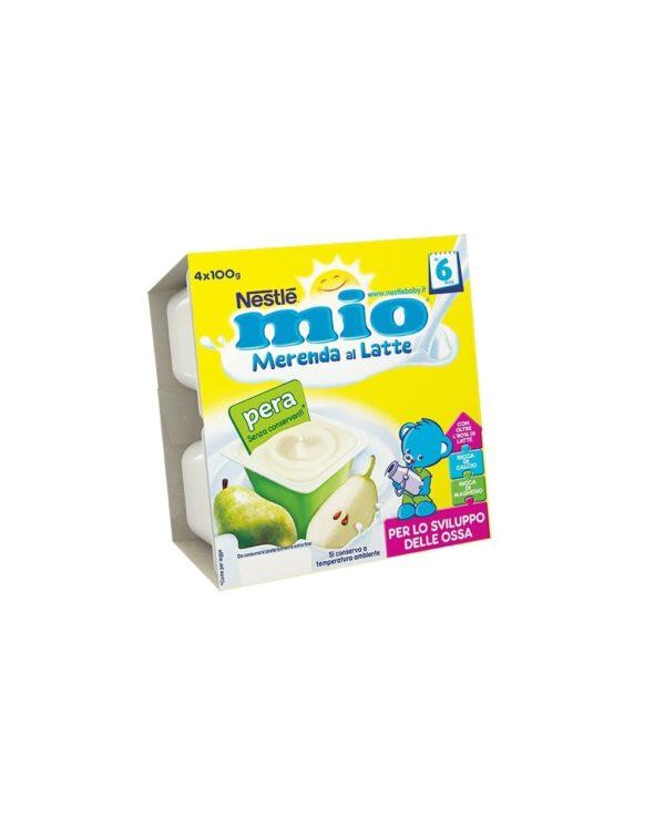 Nestlè MIO - Merenda al latte pera 4x100g - Nestlé
