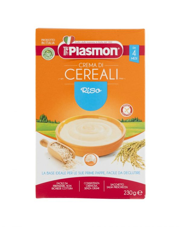 Plasmon - Crema di riso 230g - Plasmon