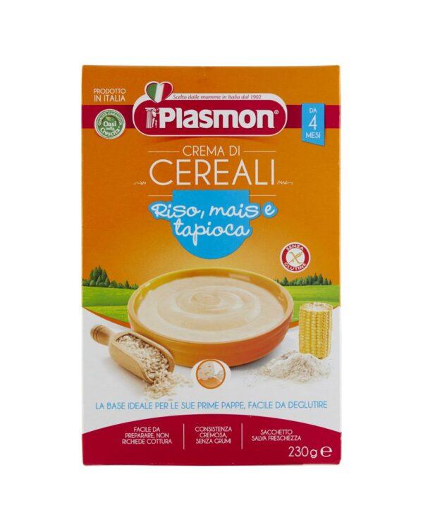 Plasmon - Crema di riso, mais e tapioca 230g - Plasmon